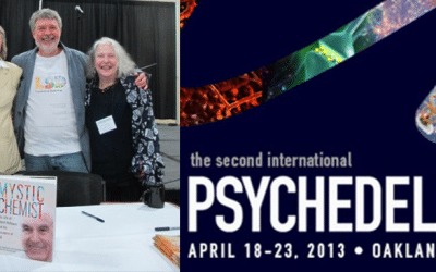 Synergetic Press launches Mystic Chemist in Oakland at the MAPS Psychedelic Science Conference and City Lights Bookstore