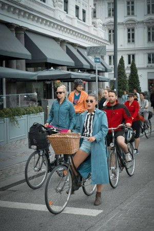 Copenhagen, Denmark 55% of residents in the Danish capital cycle to work or school, and over 30% of public transport uses renewable fuel. The city is also aiming to be carbon-neutral by 2025.