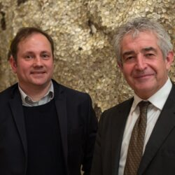 Christian Schwägerl and Tony Juniper in London