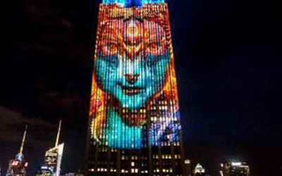 How the Visionary Art of Android Jones Connects Kali, Endangered Species and the Empire State Building