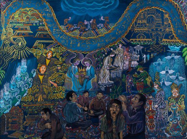 Untitled by Pablo Amaringo, in Ayahuasca Reader