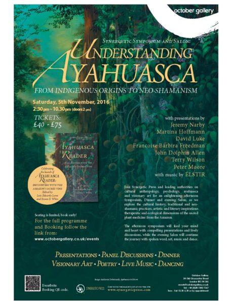 understandingayahuascaeventposter