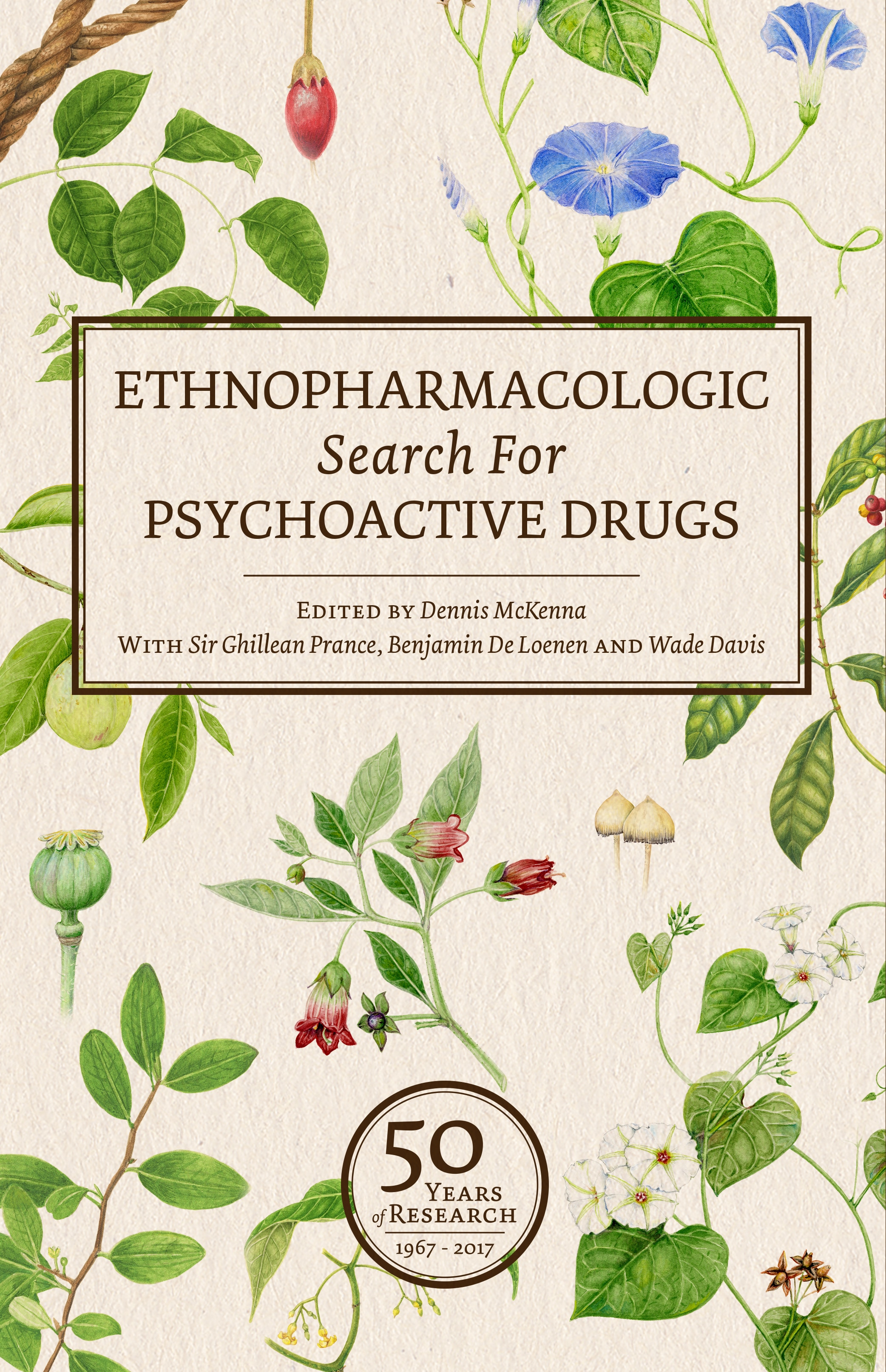 Ethnopharmacologic Search for Psychoactive Drugs edited by Dennis McKenna and Wade Davis published by Synergetic Press