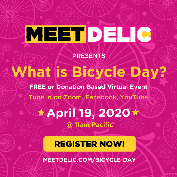 Meet Delic Bicycle Day 2020