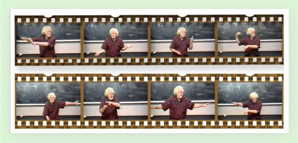 Sasha Shulgin teaching at UCSF